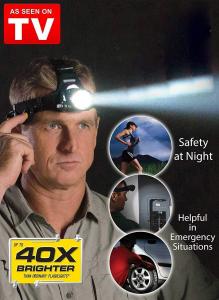 Lanternă frontală LED profesionistă - Cree Atomic Beam [3]
