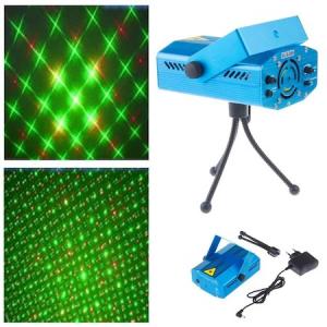Mini Proiector Laser, jocuri de lumini, senzor de sunet [0]