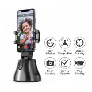 Suport selfie pentru telefon, urmarire automata inteligenta si rotire la 360 [4]