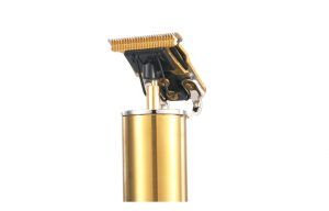 Aparat de tuns profesional pentru contur GOLD fara fir , incarcare USB ,600mAh, Auriu [1]