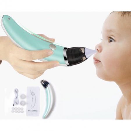 Aspirator pentru bebeluși Dispozitiv de aspirare nazală electric anti-reflux pentru copii [1]