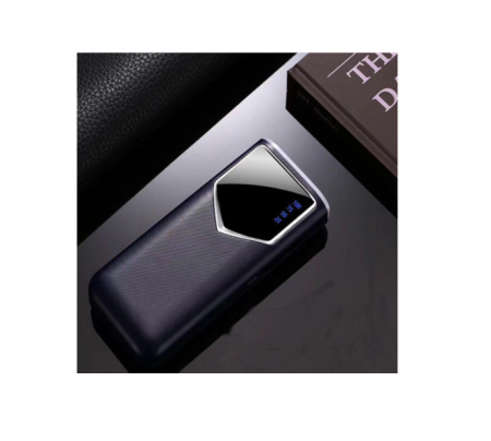 Baterie externa 12000mAh Baterie portabila cu 2 USB LED Powerbank Fast Charger Albastru [0]