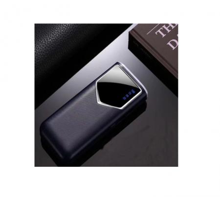 Baterie externa 12000mAh Baterie portabila cu 2 USB LED Powerbank Fast Charger Negru [2]