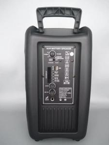 Boxa Activa Portabila 150 W , 8 Inch  USB, Radio, Bluetooth,Telecomandă,Negru [2]
