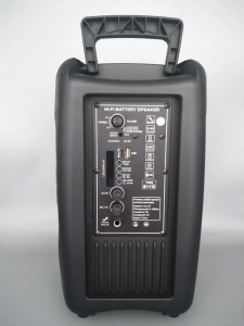 Boxa Activa Portabila 150 W , 8 Inch USB, Radio, Bluetooth,Telecomandă,Orange [2]