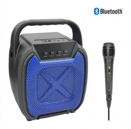 Boxa portabila , lumini LED, Microfon inclus. ZQS 6109 [1]