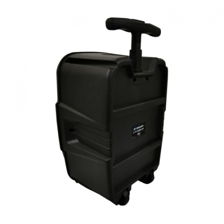 Boxa portabila troler ZQS 6111, 30W P.M.P.O., telecomanda, microfon [2]