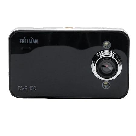 "Camera auto DVR Freeman DVR 1080 Full HD 1280x720, Ecran 2.4"", Mod filmare noapte, Negru [0]"