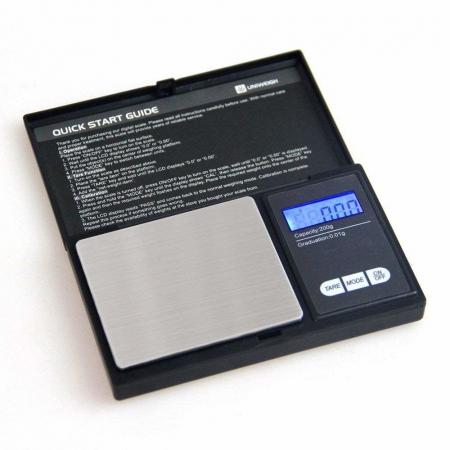 Mini cantar digital gramaj de bijuterii, capacitate 500 g, diviziune 0.01g [2]