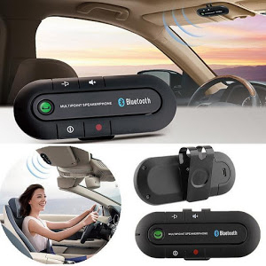 Car Kit Bluetooth tuadia magnet, hands-free,dual point, multiuser [0]