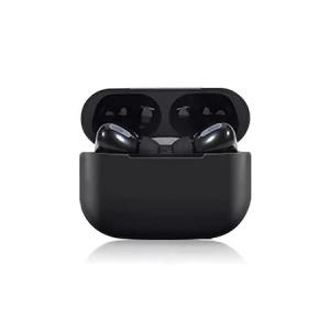 Casti Bluetooth Wireless PRO, compatibile iOS si Android, Carcasa cu incarcare wireless, Clona, TWS Pro, Bluetooth 5.0, Sunet HiFi, Functie Touch,Alb,Negru [3]