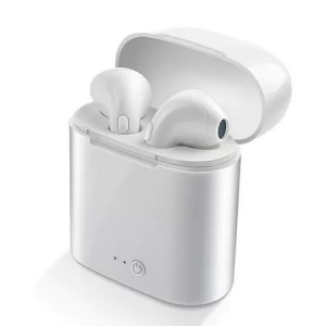 Casti i7 MINI Calitate Premium, Wireless Bluetooth 4.2 High Definition Music, Microfon Telefon [0]