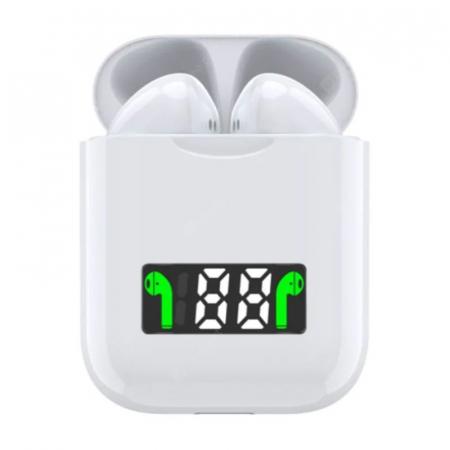 Casti I99 TWS, Bluetooth 5.0, Incarcare Wireless QI, Afisaj Digital, Waterproof IPX6 [1]