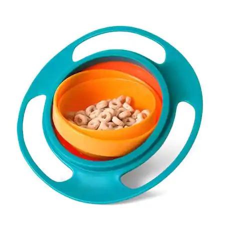 Castron pentru copii cu sistem antirasturnare Gyro Bowl [3]