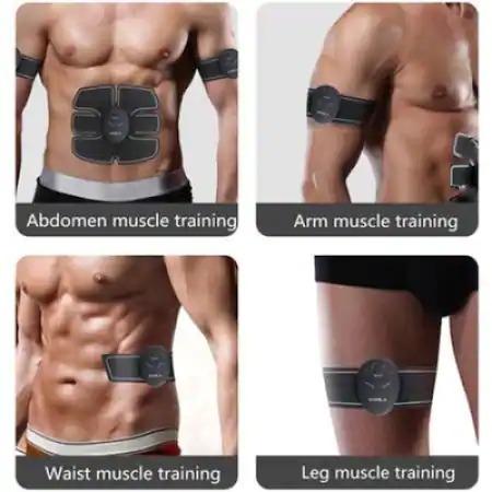 Centura electrostimulare EMS 3 piese abdomen,maini,picioare CRISTIANO RONALDO Smart Fitness [2]