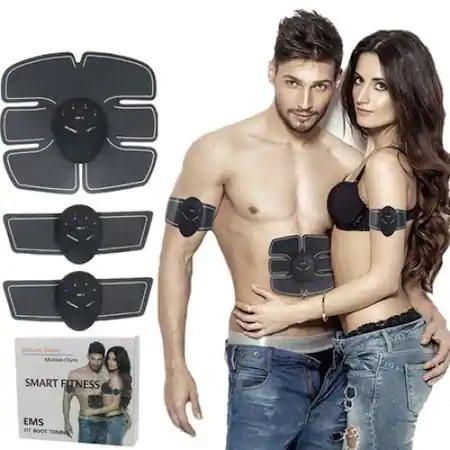 Centura electrostimulare EMS 3 piese abdomen,maini,picioare CRISTIANO RONALDO Smart Fitness [0]