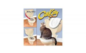 Twitter E-mail Citi Kitty - kit pentru educarea pisicilor la toaleta [3]