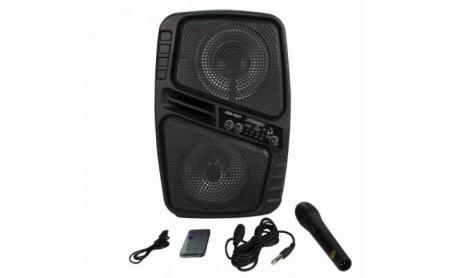 Boxa portabila 150W PMPO microfon si telecomanda ZQS-6207 [0]