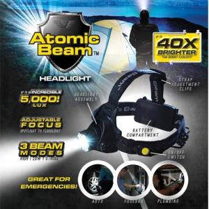 Lanternă frontală LED profesionistă - Cree Atomic Beam [4]
