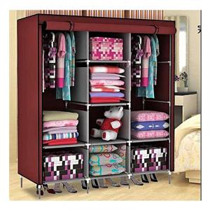 Dulap textil Storage Warderobe 26135B, 130 x 45 x 175 cm, 8 rafturi [0]