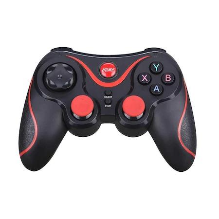 Gamepad Bluetooth,pentru telefon,laptop,tableta,PC,Smart TV, Smart Box,acumulator integrat,multiple functii,negru [2]
