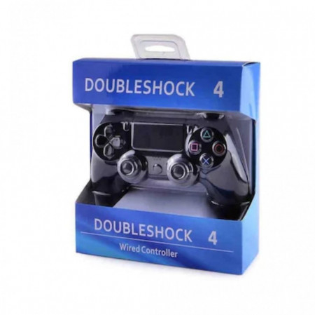 Gamepad Cu Fir DOUBLESHOCK 4 Pentru Playstation 4 Cu Vibratii [2]