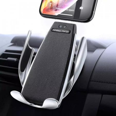 Incarcator auto Wireless cu senzor inteligent si Fast Charger [1]