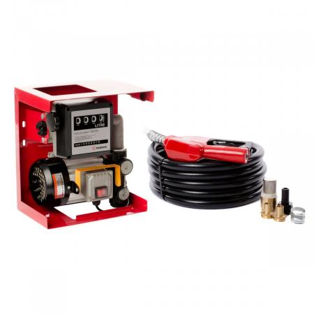 Pompa electrica de transfer combustibil cu contor si furtun, kit complet alimentare 12V [3]