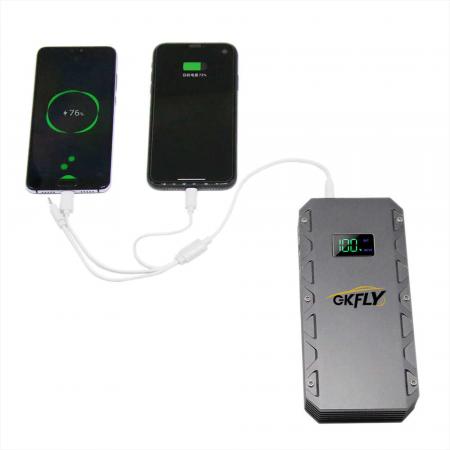 Kit pornire automobil portabil cu baterie externa 10.000 si cabluri de pornire auto [4]