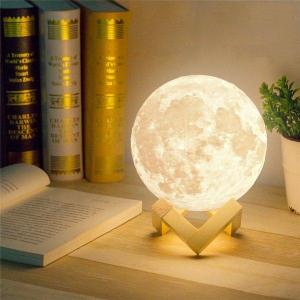 Lampa de veghe Luna Moon 3D [0]