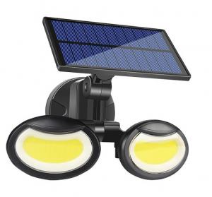 Lampa solara dubla 56 LED cu senzor de miscare [0]