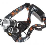 Lanterna de cap cu 3 led-uri, waterproof, cu lumina puternica [3]