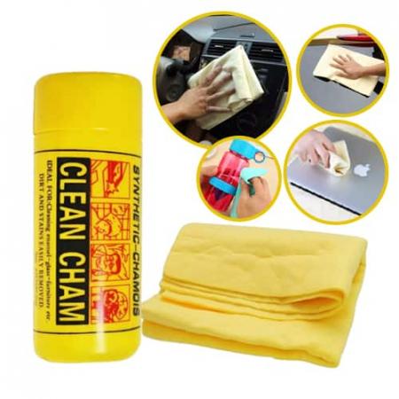 Laveta piele sintetica mare Chamois Clean Cham 66x43cm [0]