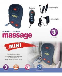 Mini husa de masaj HL-802, 3 zone masaj cu incalzire [1]