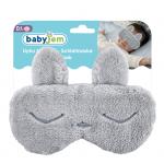 Masca bebelusi pentru somn BabyJem Sleeping Bunny Grey [3]