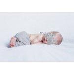 Masca bebelusi pentru somn BabyJem Sleeping Bunny Grey [1]