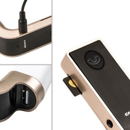 Modulator FM Hands Free Bluetooth A2DP, USB, G7, auriu [0]