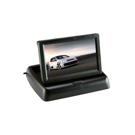 """Monitor Pliabil Video LCD TFT Led Marsarier 4,3"""" ,Cablaj inclus,12V [1]"""