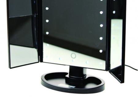 Oglinda cosmetica rotativa Led-uri cu variator pentru make-up [3]