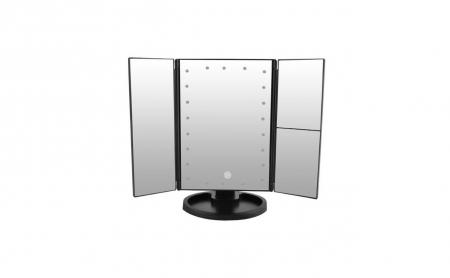 Oglinda cosmetica rotativa Led-uri cu variator pentru make-up [4]