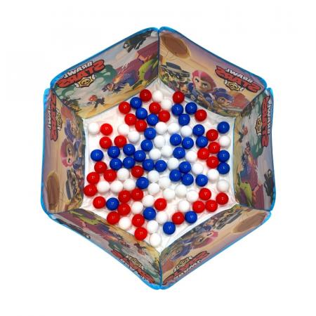 Piscină cu bile pliabilă Brawl Stars 100 de bucăți Bile pentru piscină [2]