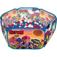 Piscină cu bile pliabilă Brawl Stars 100 de bucăți Bile pentru piscină [0]