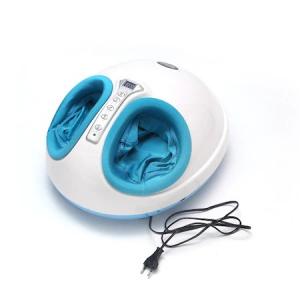 Aparat de masaj pentru picioare Shiatsu, 3 trepte intensitate, functie de incalzire, timer 5-30min, telecomanda, 40 W, alb/albastru [1]
