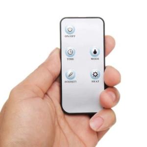 Aparat de masaj pentru picioare Shiatsu, 3 trepte intensitate, functie de incalzire, timer 5-30min, telecomanda, 40 W, alb/albastru [3]