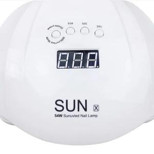 Lampa UV/LED pentru manichiura, SUN X, 54 W, Alb [3]