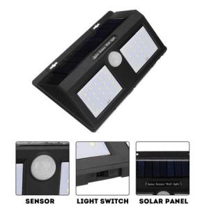 Lampa Cu LED Dubla Solara Si Senzor De Miscare 40 x LED [2]