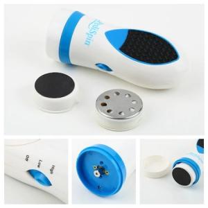 Aparat ingrijire picioare Mediashop Pedi Spin, Alb/Albastru [0]