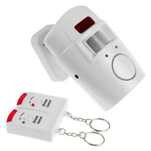 Alarma wireless cu 2 telecomenzi, senzor de miscare, [0]