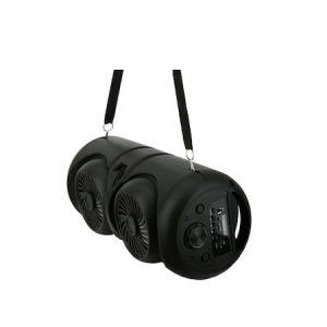 Boxa Activa Portabila Bluetooth, ZQS-4221, 12 W, USB, TF/SD Card, Aux, Radio FM, Telecomanda si Lumini, Negru [2]