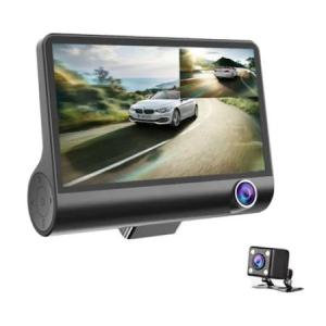 Camera Video Auto Tripla DVR, L300-1, Full-HD, 3 Camere - Fata/Spate/Interior, Ecran 4'', G Senzor, 170 grade [3]